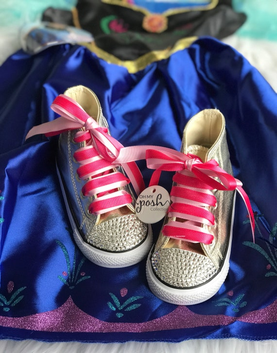 Kids Frozen shoes on Etsy, $50.00 | Kid shoes, Disney shoes