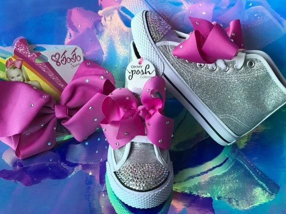 68cf69b2a63f0 JoJo Siwa DREAM Tour inspired, JoJo Siwa Party Shoes, JoJo Siwa Birthday  Costume, 1st Birthday Inspired outfit and JoJo Siwa Bow Set