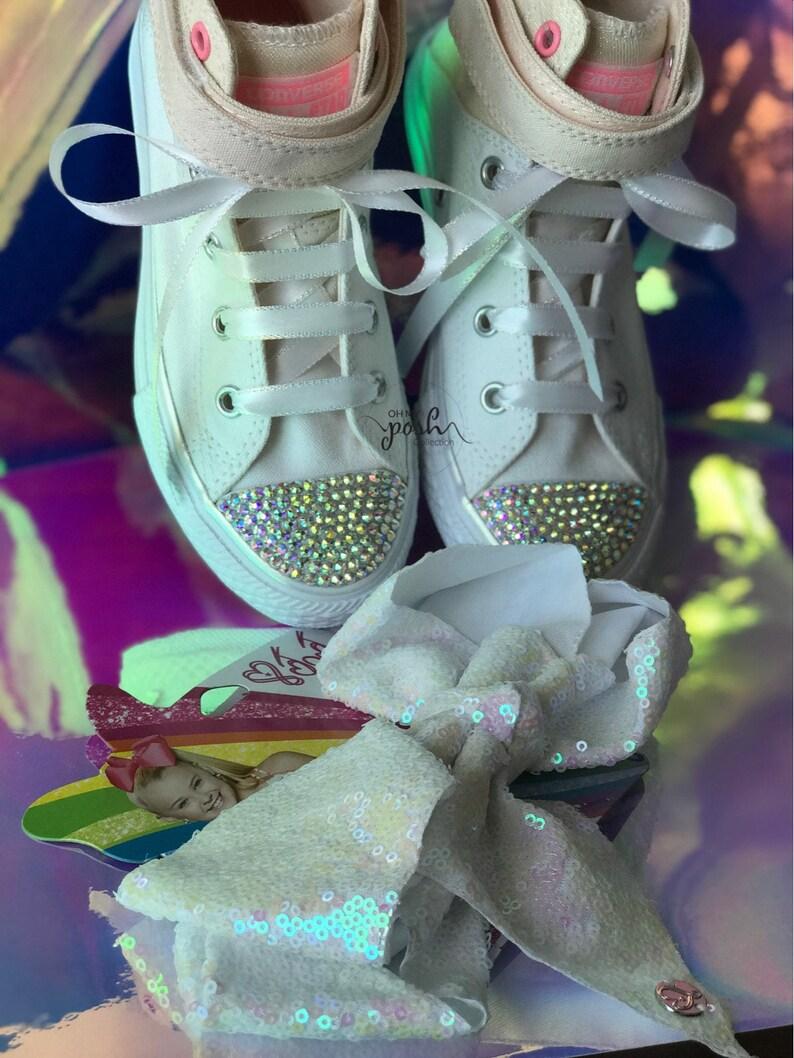 JoJo Siwa Party Shoes JoJo Halloween JoJo Siwa Birthday 1st Birthday Inspired outfit and JoJo Siwa Bow Set JoJo Siwa Birthday Costume