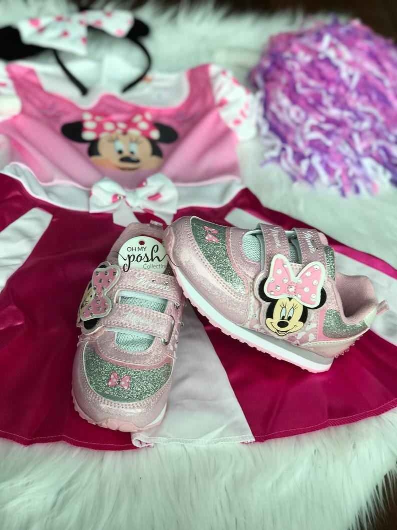 83ec83158b257 Girls Minnie Mouse Cheer Costume Disney Junior Minnie Mouse