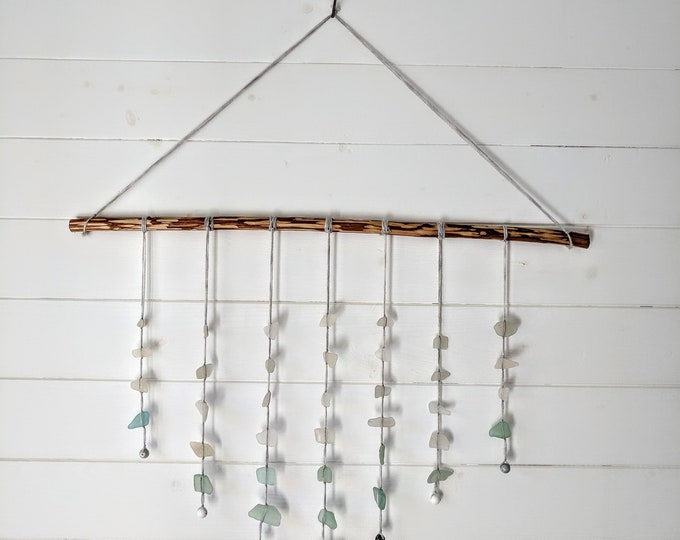 Large Sea Glass Wall Hanging