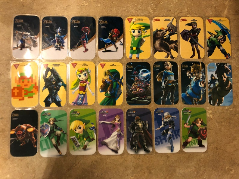 The Legend of Zelda Amiibo NFC Cards (Champions, BotW, 30th Anniversary,  Smash Bros, & More)