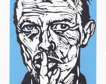 Bowie Digital Print