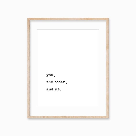 Simple Quotes | Poem Print Simple Quote Print Quote Wall Art Love Quote Etsy