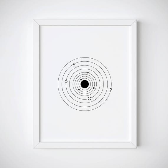 Groovy Solar System Print Galaxy Line Art Print Tumblr Room Decor Celestial Art Print Tumblr Prints Line Art Printable Minimalist Art Print Download Free Architecture Designs Scobabritishbridgeorg