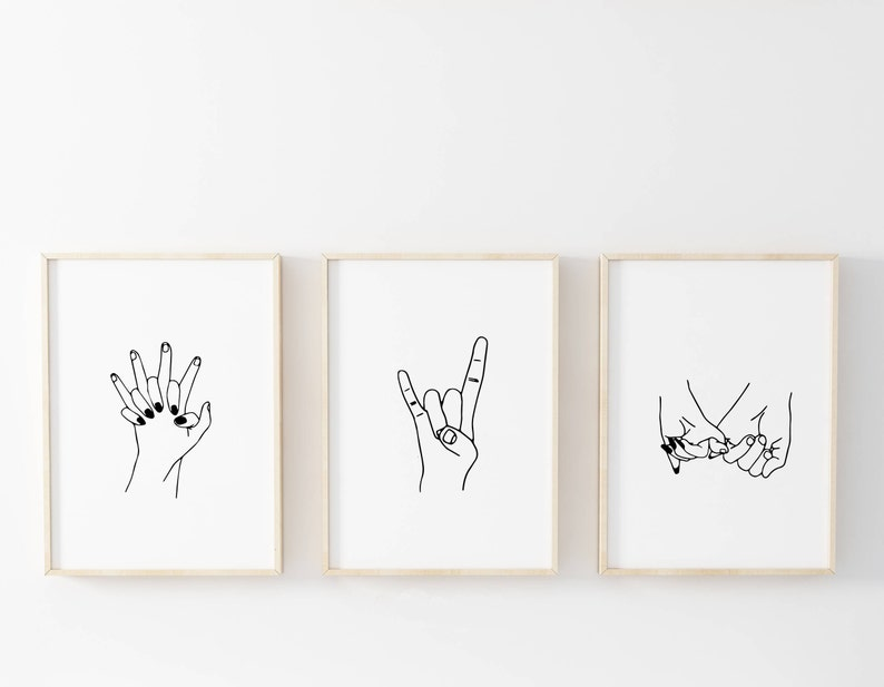 image regarding Tumblr Printables referred to as Hand Drawn Print Mounted, Tumblr Place Decor Print Mounted, Mounted of 3 Printables, Couple of Prints Deal, Printable, Teenager Space Package deal, Girlfriend Reward