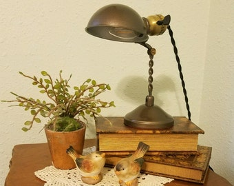 Restored 1920's Vintage Gacor Handi-Lamp Made By Dalmo Manufacturing Company