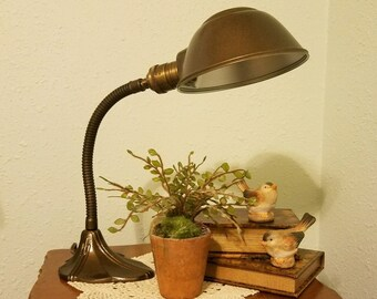 Gooseneck Lamp Etsy