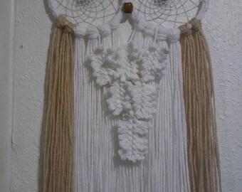 Handmade Owl Dreamcatcher