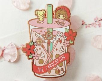 Cardcaptor Sakura Kinomoto Bubble Tea Boba Hard Enamel Pin