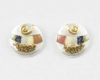Silver Earrings Beach Maritime Jewelry Ocean Sea Voyage extraordinary luxury exclusive Crafts Handicraft Handcrafts Craftwork