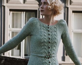 Forest Berry Dress Knitting Pattern
