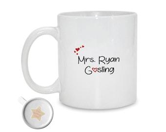 Mrs Ryan Gosling   Gift For Her   Birthday Gift