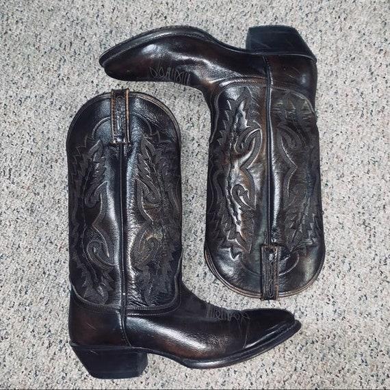 Vintage Nacona Cowboy Boots Western Rockabilly