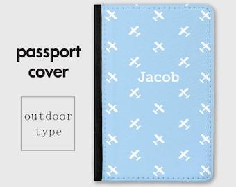 5675769e5 Baby Boys Passport Holder - Passport Cover - Blue Aeroplanes - My First  Passport - Gift for Boy - Kids Passport Holder - Travel Gifts - PC08