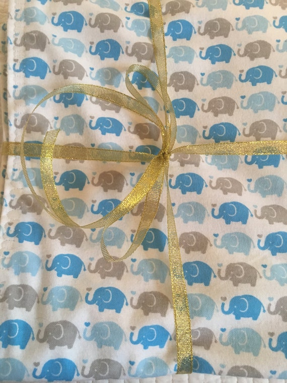 Baby Boy Flannel Reversible Blanket  52e56cdc1