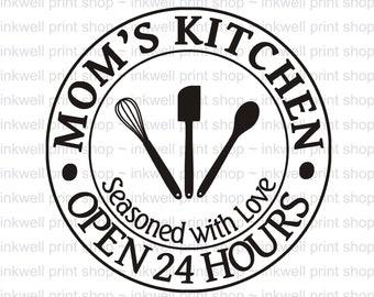 Kitchen Svg Etsy