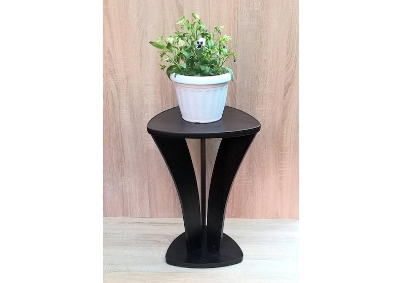 04ba09ea6e69 Pedestal plant stand Orleans 3. Flower pot stand Plant stand   Etsy