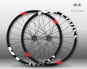 DT Swiss EX471 Bicycle 27.5 Rim Decal Wheel MTB Sticker Adhesive Set Blue 8 Pcs