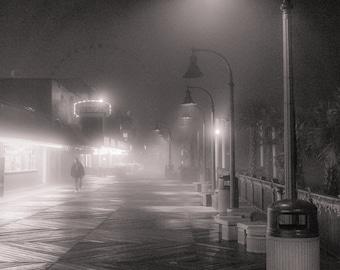 A winter's night on the boardwalk