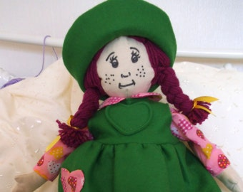 Rag Doll Hand made