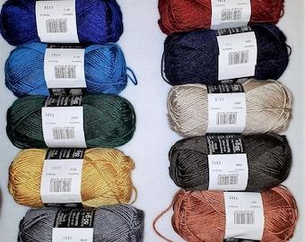 Mulberry Silk Yarn by AUSTERMANN SETA - pure silk yarn! SALE!!! crochet yarn and knitting