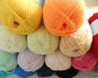 Acrylic amigurumi lace yarn, Baby smiles Suavel, Schachenmayr, crocheting & knitting, summer projects