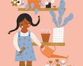 Garden Love Print