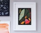 Tropical Plant Magic Print