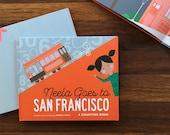 Neela Goes to San Francisco Children's Book (SIGNED!)