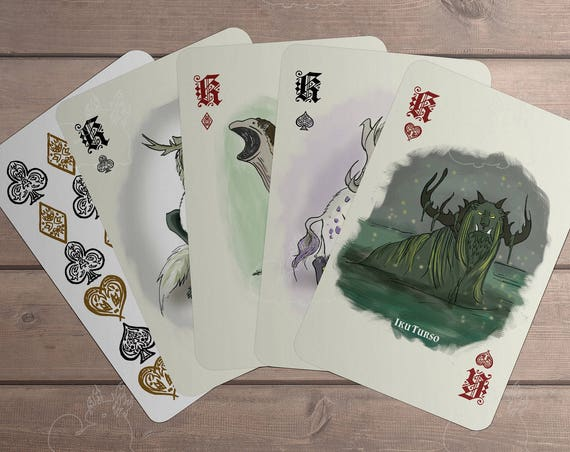 Myth Monster Card Deck