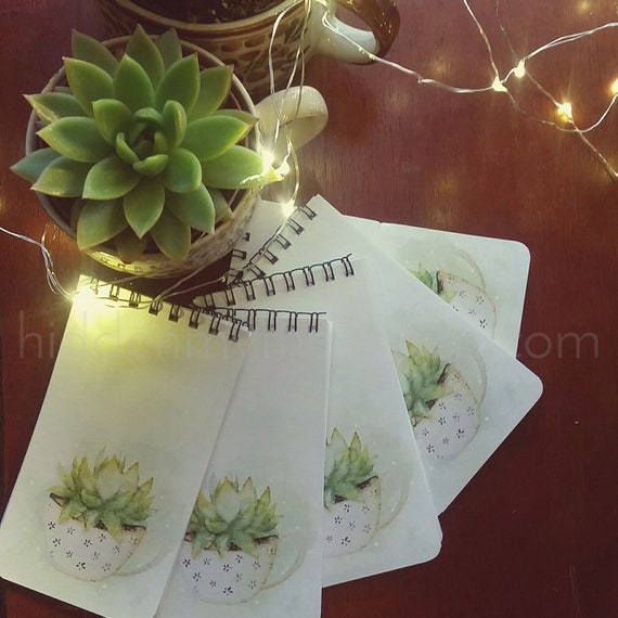 Succulent Notepads