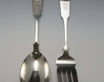"""Sheaf of Wheat By Durgin-Gorham Sterling Silver Olive Spoon Ideal 6/"""" Custom Made"""