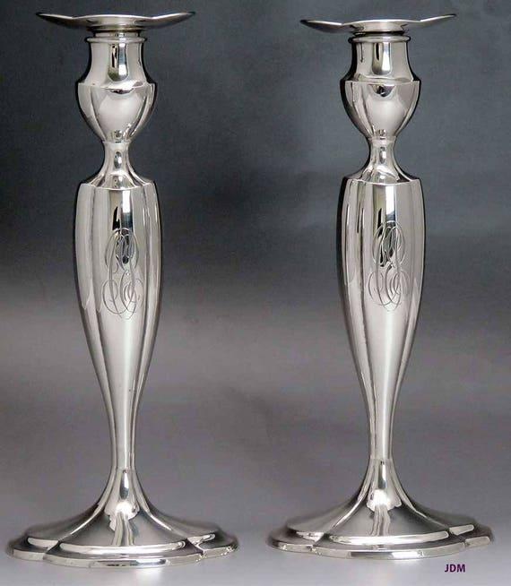 Pretty Antique Gorham Lancaster Rose Gilded Sterling Silver Berry Strainer Ladle