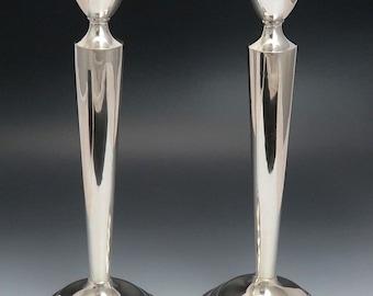 Fab Pair Boardman Sterling Silver #967 Candlesticks