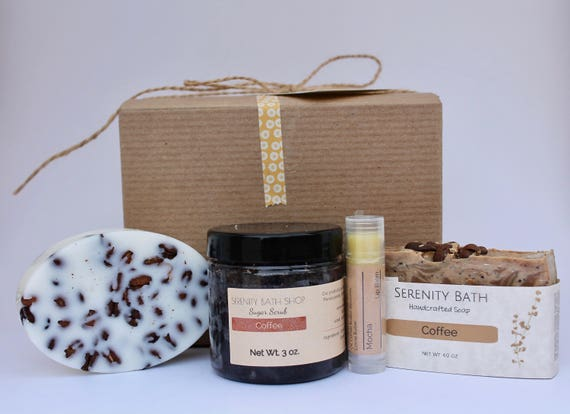 Coffee Care Package Gift Box