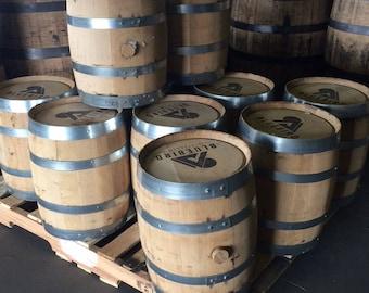 FRESH 5 Gallon Bourbon WHISKEY BARRELS- Homebrewing & Brewing Craft Beer, Homebrew, Barrel Aged Beer, Beer Making, Small Barrel
