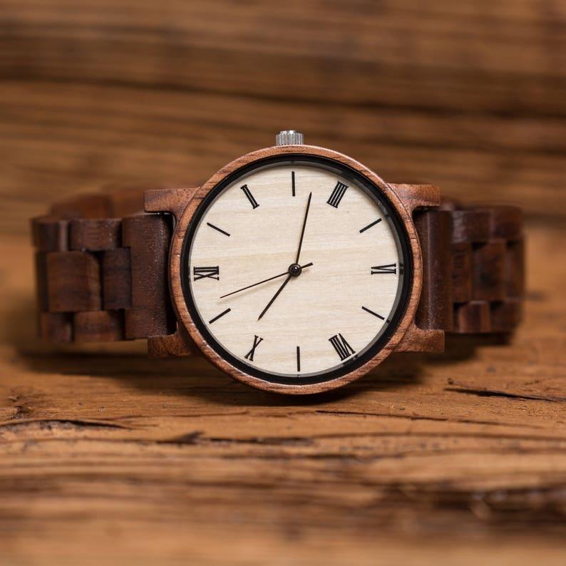 7a53642b1 Reloj personalizado novio padrino regalo ejecutivo nuevo   Etsy