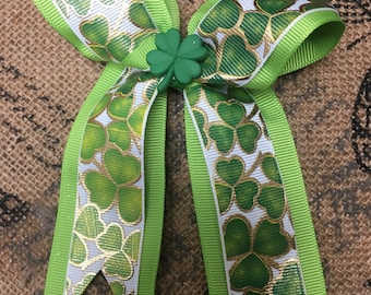 Saint Pattys Day bow