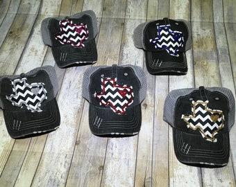 Texas Chevron Trucker Hat