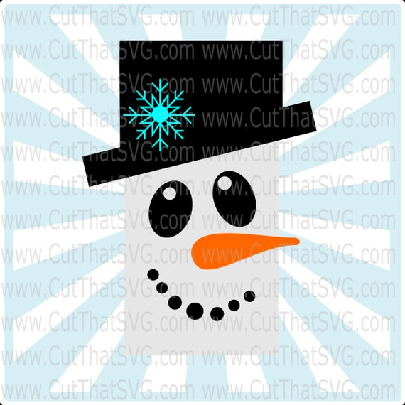 Snowman SVG, Gift Tag SVG, Christmas SVG, svg, To from tags, snowman face  svg, snowman vector, snowman clipart, svg files, snowman, dxf