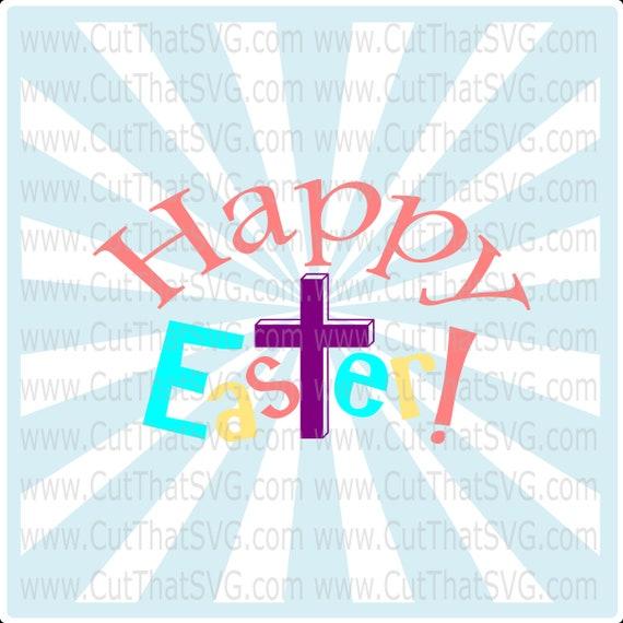 Happy Easter Svg Easter Svg Christ Svg Jesus Svg Easter Etsy