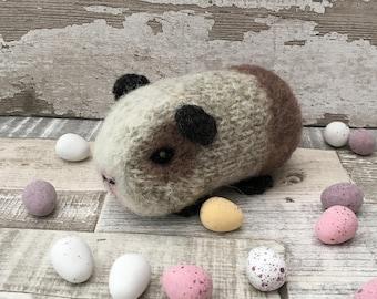 Sorrel the Mini Guinea Pig Knitting and felting Kit