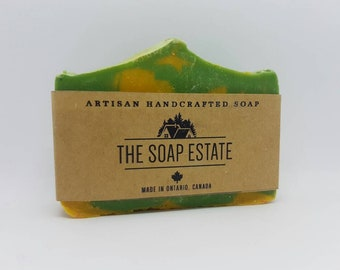Lemon and Basil Soap