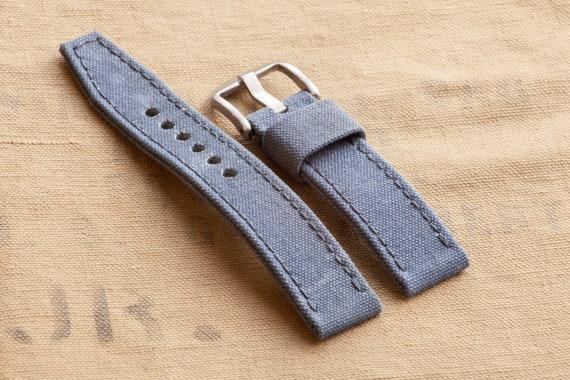 Military Grade Cotton Webbing Brand New White /& Navy Blue 125mm /& 75mm