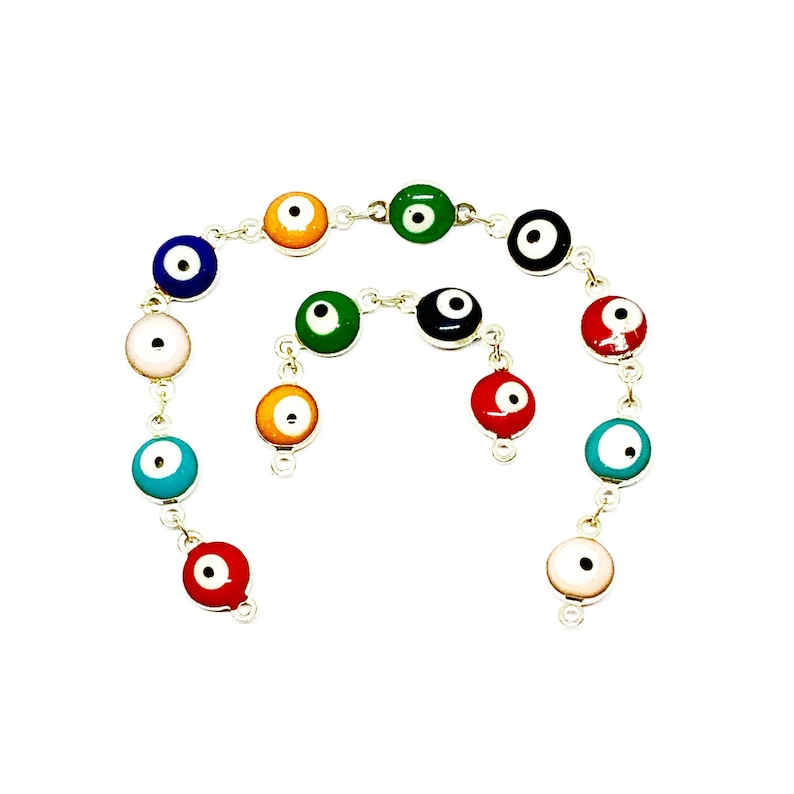 Evil Eye Connector Chains