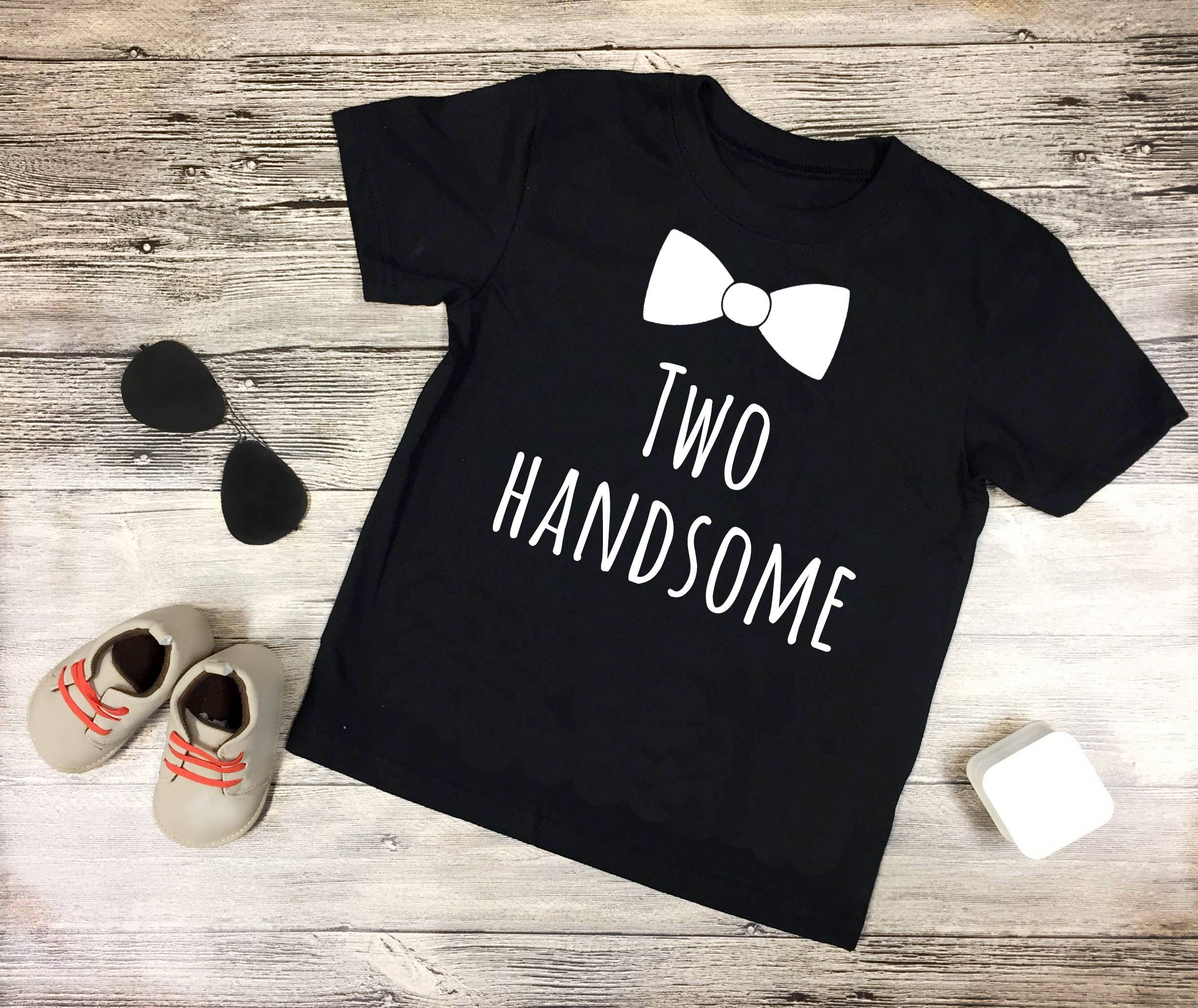 Two Handsome Shirt 2nd Birthday Second