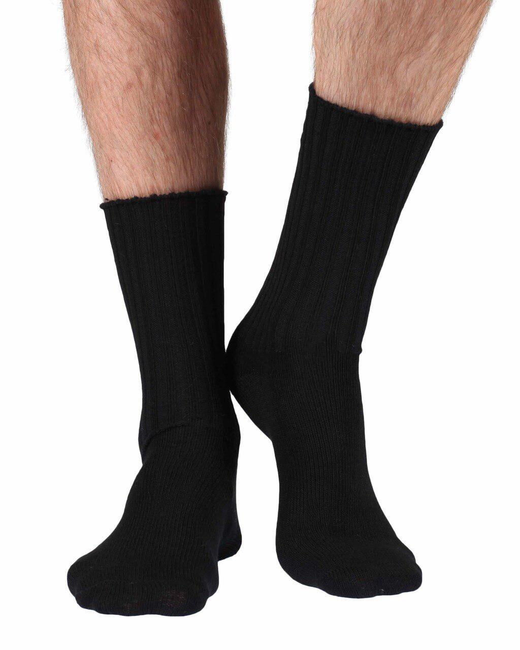 soft topped Fremont women/'s elastic free cotton crew socks in sky blue