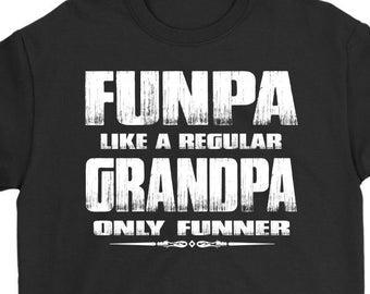 46d9791a Funny Grandpa Shirt | Funpa Funny Grandpa Shirts | Funny Grandpa Gift
