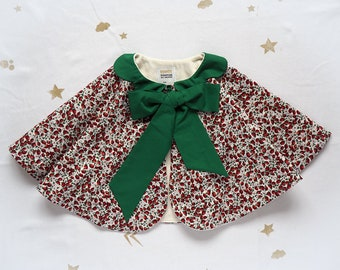Strawberry Capelet for celebrations and play